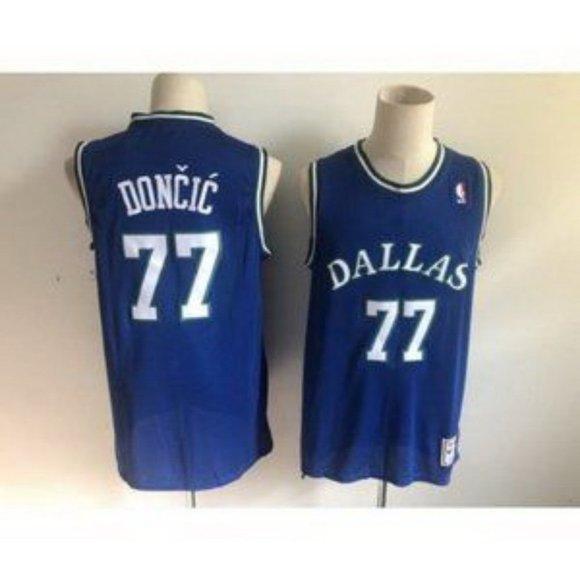 Nba Shirts Dallas Mavericks Luka Doncic Blue Jersey Poshmark